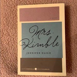 Book Mrs. Kimble by Jennifer Haigh